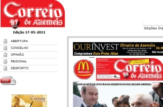 News - Newspapers - Correio de Azemeis - ID 69724