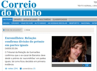News - Newspapers - Correio do Minho - ID 69725