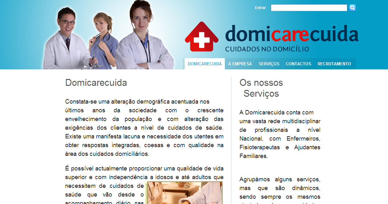 AMADORA Venteira (Amadora) - Business - Health Suppliers - Domicarecuida-Cuidados no Domicílio - ID 72000